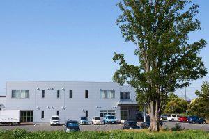 プロ用理美容はさみ国内生産本数No.1を誇る新潟県燕市のシゲル工業の工場外観